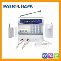 GSM Wireless Burglar Alarm System with LCD and Keypad