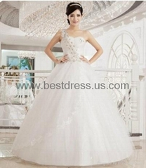 New white/ivory Organza wedding dress Bridal Gown New ModelFashion Wedding Dres