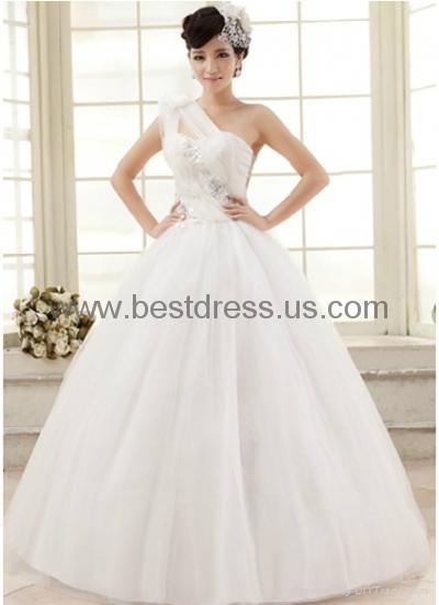 New white/ivory Organza wedding dress Bridal Gown New ModelFashion Wedding Dres  5