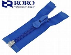 No.8 open-end nylon zipper