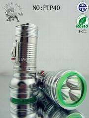 非洲暢銷產品 迷你袖珍可隨身攜帶 仿鐵1節LED手電筒 中國製造