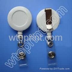 custom ID Badge Reels badge clips badge holders manufacturer in china