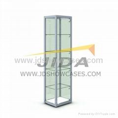 Glass Tower Display Showcase