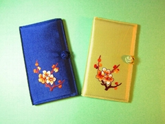 Hand Embroidery Credit Card Holder/ Wallet