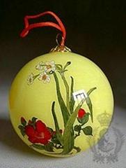 内画圣诞球