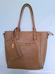 Zipper decoration handbags