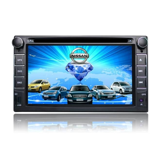 7 inch car gps navigation with bluetooth av-in FM 1