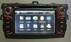 "Car gps navigation for honda civic with 8"" dvd radio android 4.04"