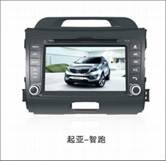 8 inch Ford Focus Dual Din Car GPS navigation