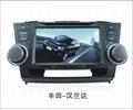 8 inch Ford Focus Dual Din Car GPS navigation 2