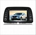 8 inch Ford Focus Dual Din Car GPS navigation 3