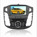 8 inch Ford Focus Dual Din Car GPS navigation 4