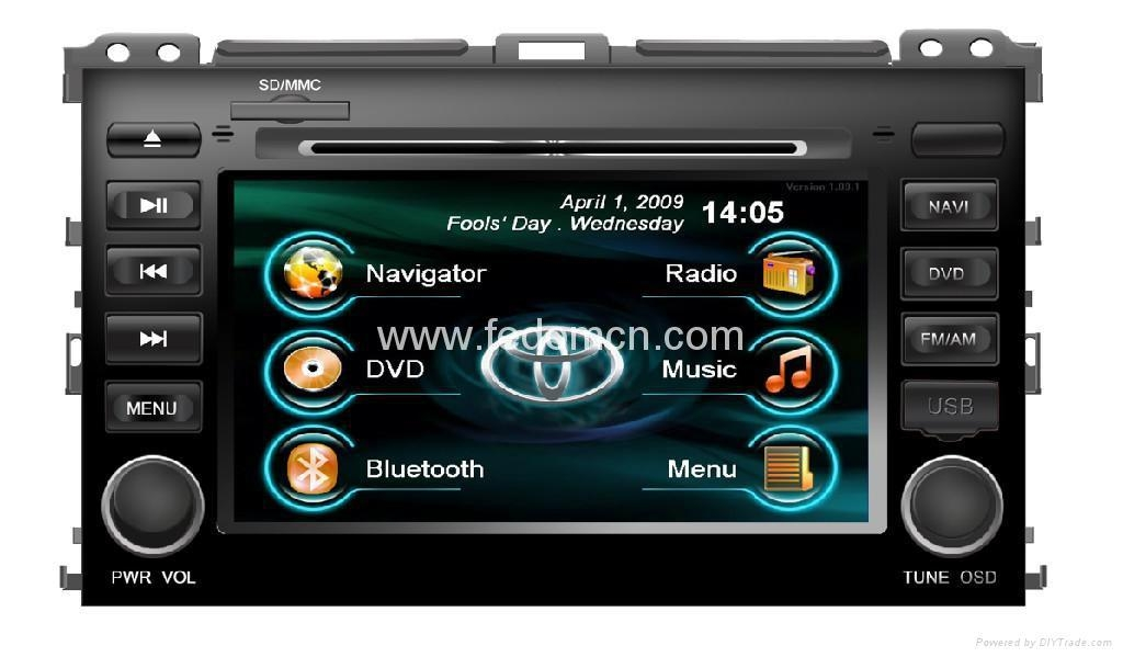 8 inch Ford Focus Dual Din Car GPS navigation 5
