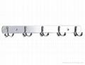 Stainless Steel Robe Hooks 1