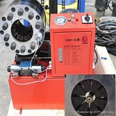 Electric Hydraulic Hose Crimper Machine Hose Pressing machine Hose swaging