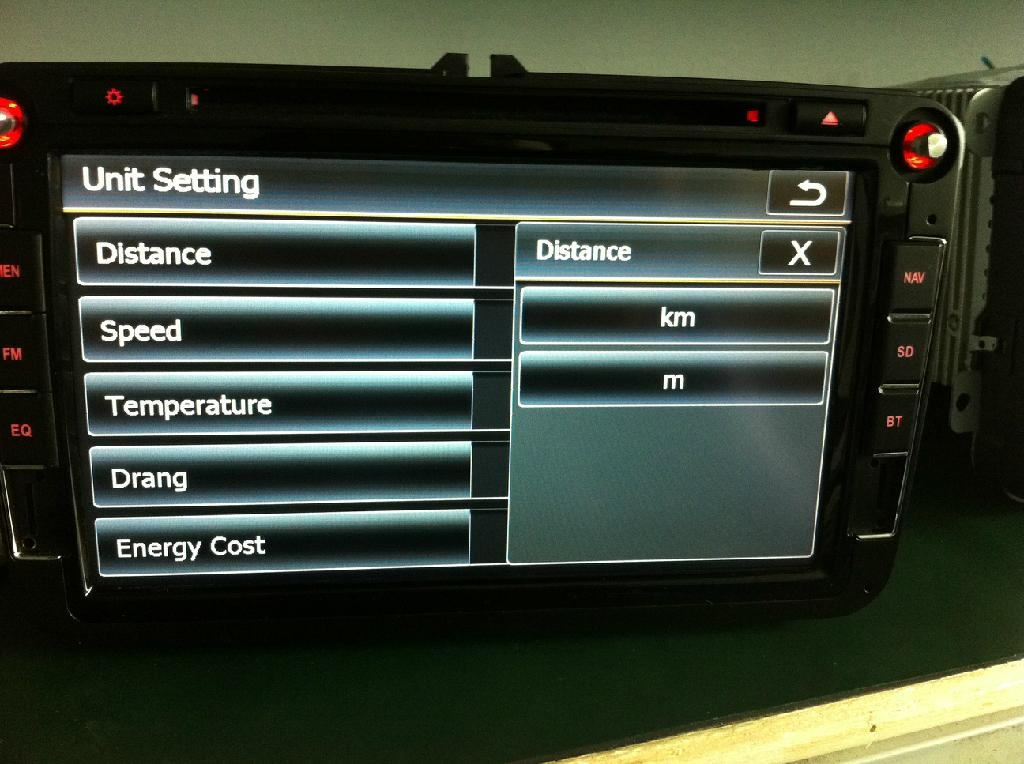 Car dvd DNS Platform Navigation 5