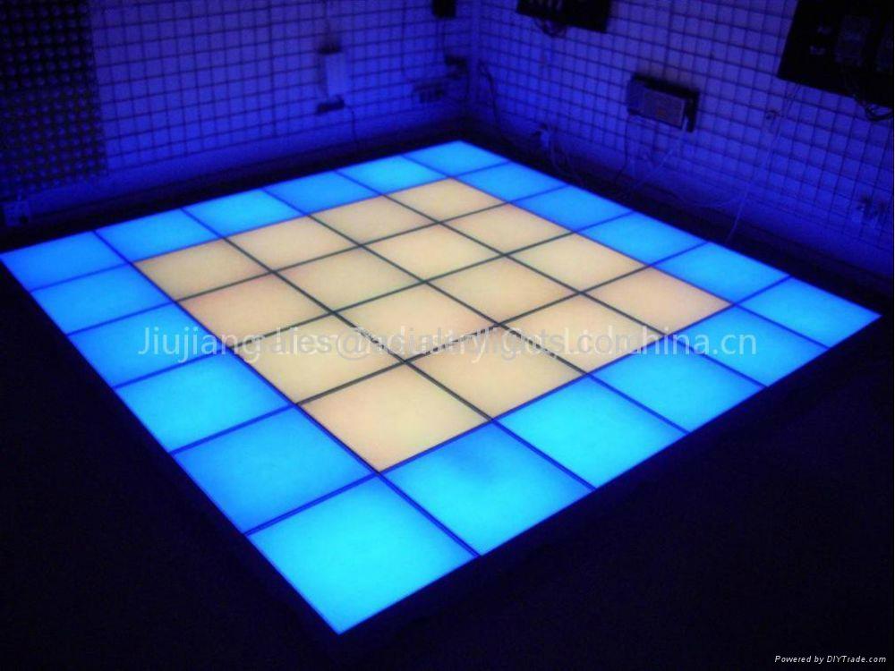 Inductive Led Dance Floor Sensitive To Sound Dance Video