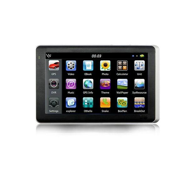 5 inch three-in-one car dvr gps navigator with Bluetooth+AVIN+car recorder gps 2