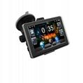 5 inch three-in-one car dvr gps navigator with Bluetooth+AVIN+car recorder gps 3