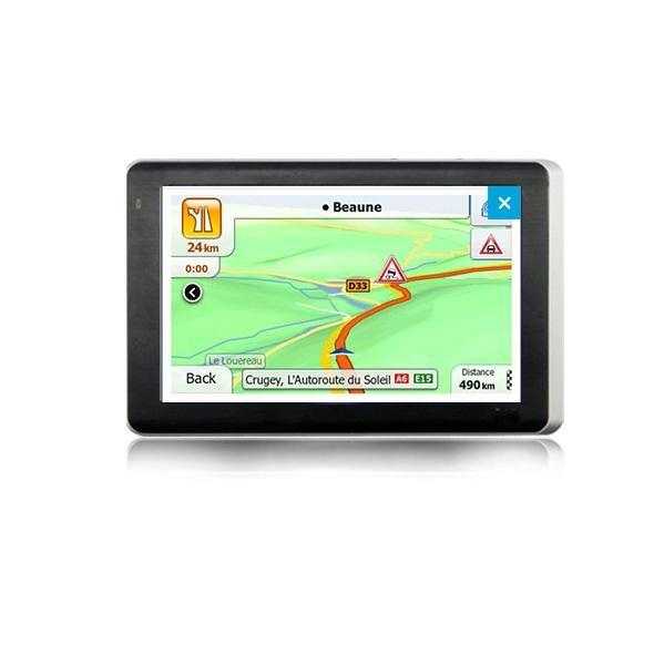 5 inch three-in-one car dvr gps navigator with Bluetooth+AVIN+car recorder gps 4
