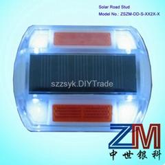 High brightness Plastic LED Solar Road Stud