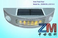 Vehicle-Mounted Solar Road Stud