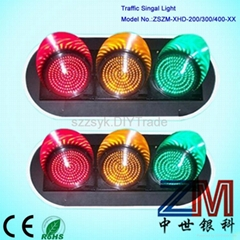 red green yellow full screen traffic light