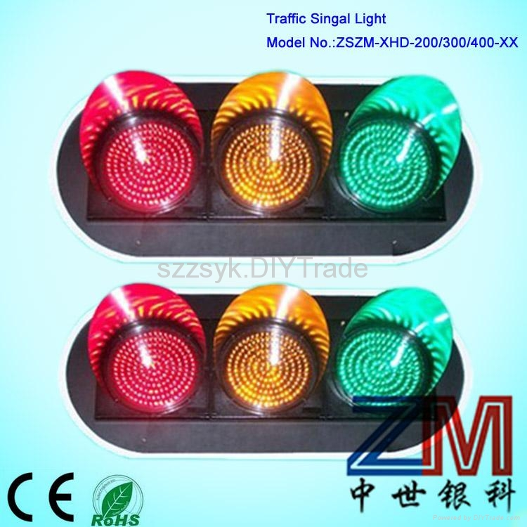 red green yellow full screen traffic light 1
