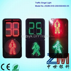 LED crosswalk traffic signal light