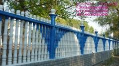 內蒙古別墅水泥藝朮圍欄