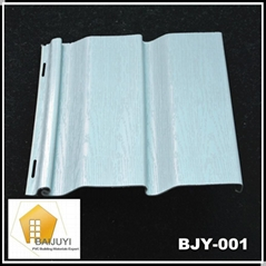PVC Vinyl Siding Panel for Exterior Wall (BJY-001)