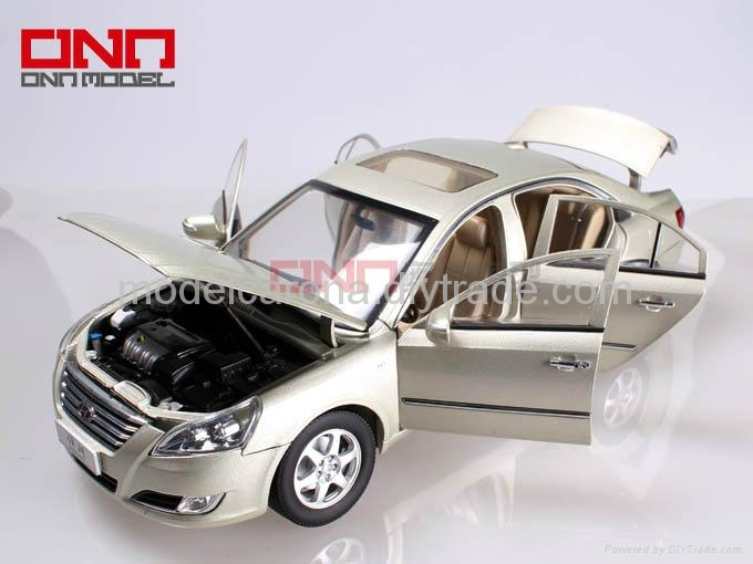 hyundai 1 10 diecast model cars with door-open,free wheel,movable steering wheel 2