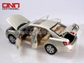 hyundai 1 10 diecast model cars with door-open,free wheel,movable steering wheel 4