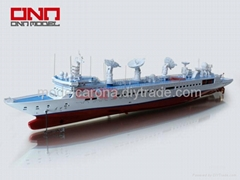 highly simulated model ship