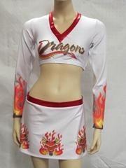 2014 Sexy Girls Teamwear Cheerleading Sportswear