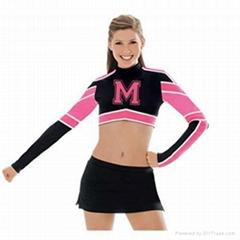 Hot Free Customized Design Stylish Cheerleading Uniforms