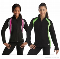 Hot Cheerleading Uniforms with Long Sleeves
