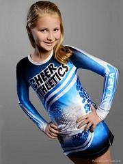 New Style Cute Girls Cheerleading Uniforms