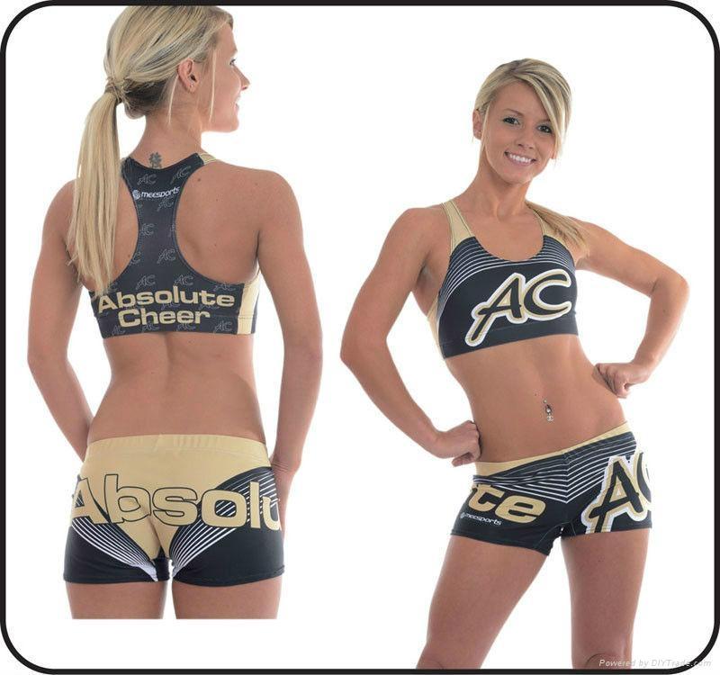 Summer Beautiful Wicking Cheerleading Uniforms 1