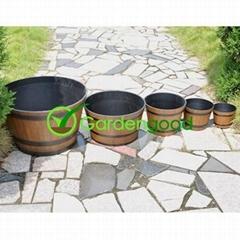Biodegradable Wooden Flower Pot