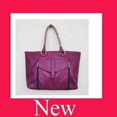 hot sell  fashion pu ladies handbag ,leather bag .