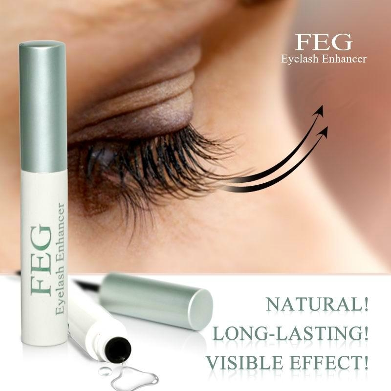FEG eyelash contributor dark and thick eyelashes  4