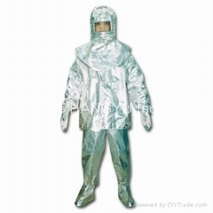 DTXF heat insulation suit for fire fighting