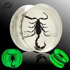 Acrylic Insect Ear Plug Body Jewelry