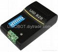 UID828智能I/O模块 CAN总线协议 CAN组网 1