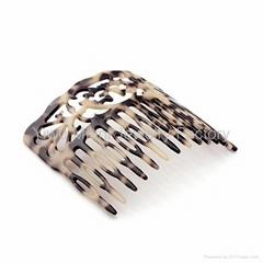 Miuni Leopard print hair comb