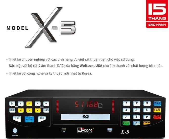DVD karaoke machine with HDMI output 1