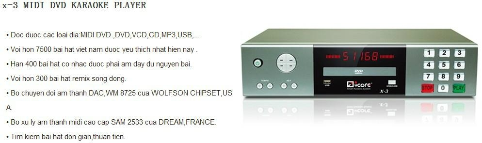 DVD karaoke machine with HDMI output 4