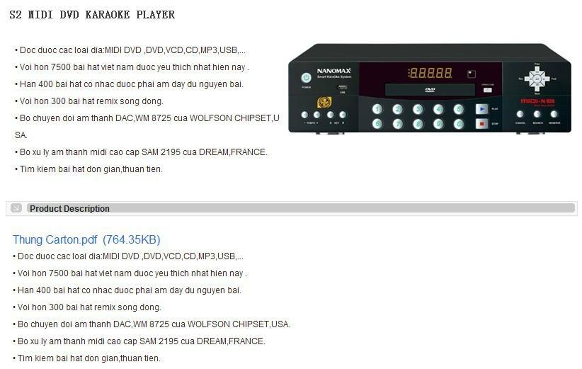 DVD karaoke machine 2
