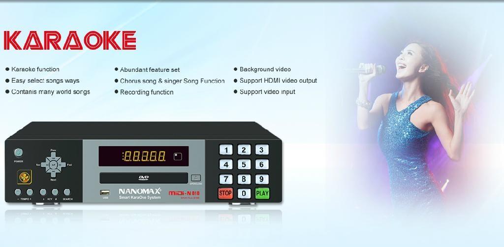 DVD karaoke machine 4
